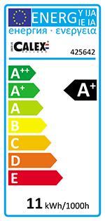Calex MegaGlobe energi label