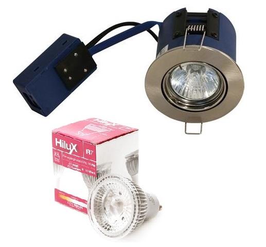 Image of   Flashlight Indbygningsspot - Blue-DL - inkl. HiluX LED spot