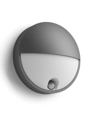 Philips myGarden Capricorn Væglampe LED Antracit m. sensor