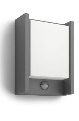 Philips myGarden Arbour Væglampe LED Antracit m. sensor