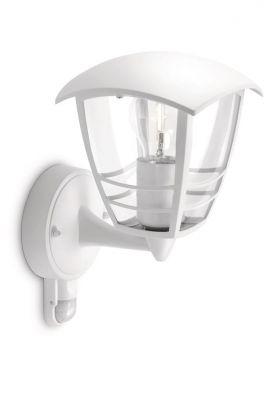 Philips myGarden Creek Væglampe Hvid m. sensor