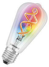 LEDVANCE SMART+ WiFi - E27 Color Edison - Klar
