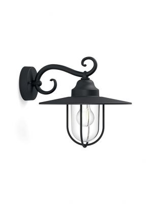 Philips myGarden Pasture Væglampe Sort