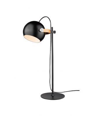 Halo Design - DC Bordlampe - Sort/Eg - Ø18cm