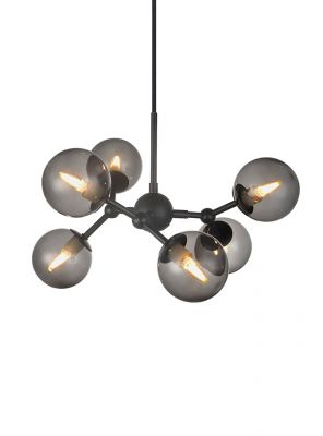 Halo Design - Atom Pendel - Smoked Ø57cm