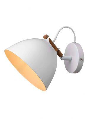Halo Design - Århus Væglampe - Hvid Ø18cm