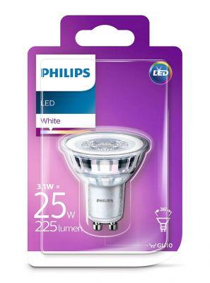 GU10 - Philips LED Spot 3.1W - 225lm (Lyskilder)