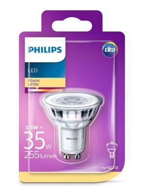 GU10 - Philips LED Spot 3.5W - 255lm (Lyskilder)