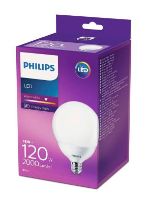 E27 - Philips LED Pære 18W - 2000lm (Lyskilder)