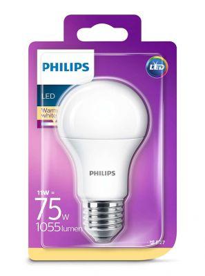 E27 - Philips LED Pære 11W - 1055lm (Lyskilder)