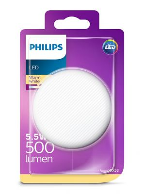 GX53 - Philips LED Spot 5.5W - 500lm (Lyskilder)