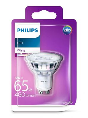 GU10 - Philips LED Spot 5W - 460lm (Lyskilder)