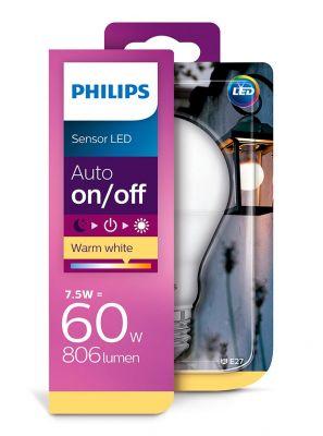 E27 - Philips LED Pære 7.5W - 806lm (Lyskilder)