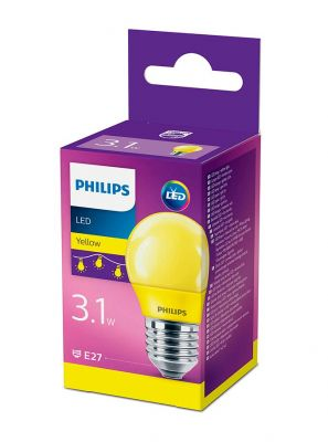 E27 - Philips LED Pære 3.1W - Gul (Lyskilder)