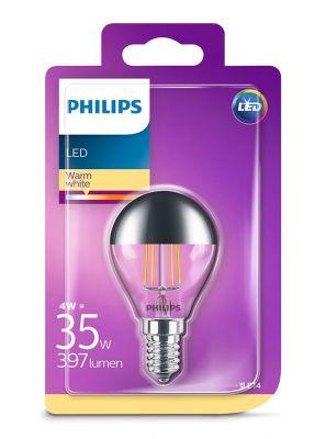 E14 - Philips LED Pære 4W - 397lm (Lyskilder)