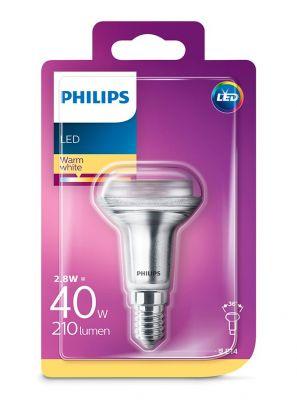 E14 - Philips LED Spot 2.8W - 210lm (Lyskilder)