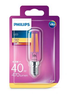 E14 - Philips LED Pære 4.5W - 470lm (Lyskilder)