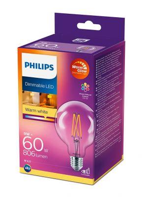 E27 - Philips LED Pære 9W - 806lm (Lyskilder)