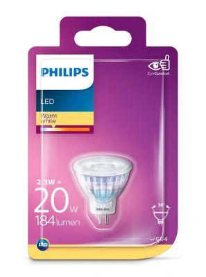 GU4 - Philips LED Spot 2.3W - 184lm (Lyskilder)