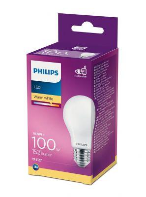 E27 - Philips LED Pære 10.5W - 1521lm (Lyskilder)
