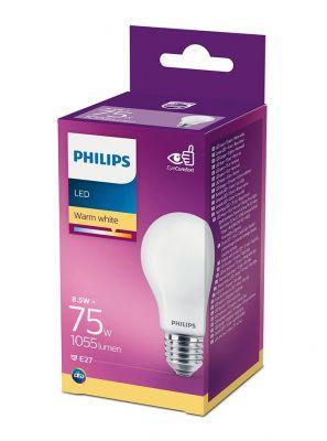E27 - Philips LED Pære 8.5W - 1055lm (Lyskilder)