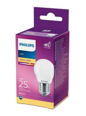 E27 - Philips LED Pære 2.2W - 250lm (Lyskilder)