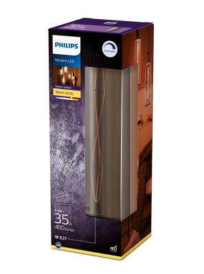 E27 - Philips LED Pære 6.5W - 400lm (Lyskilder)