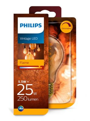 E27 - Philips LED Pære 5.5W - 250lm (Lyskilder)