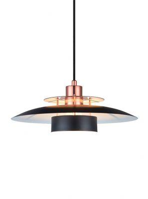 Halo Design - Sørup Pendel - Sort/Kobber Ø40cm