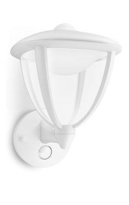 Philips myGarden Robin Væglampe LED Hvid m. sensor