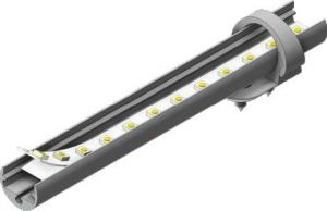 Aluminiumsprofil - Model Pen 8 - Komplet sæt - Aluminium