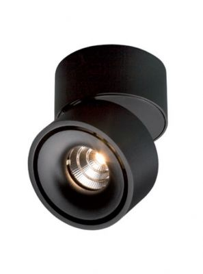 ANTIDARK - EASY W100 Væg-/Loftlampe - Sort
