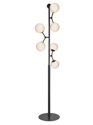 Halo Design - Atom Gulvlampe - Opal Ø37cm