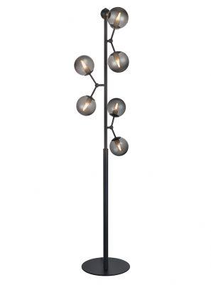 Halo Design - Atom Gulvlampe - Smoked Ø37cm