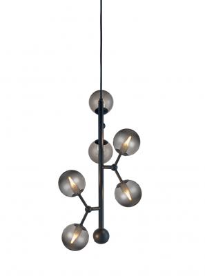 Halo Design - Atom Pendel - Smoked Ø31cm