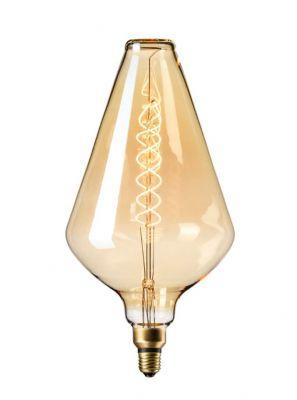 Calex XXL Vienna LED lampe - Gylden - 6W
