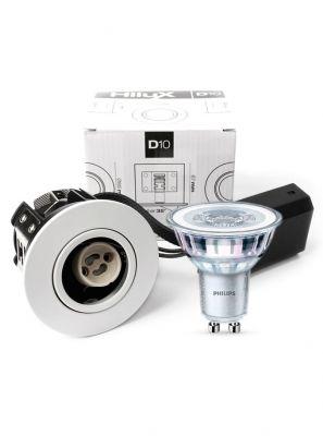 HiluX D10 - Inkl. 4.6W Philips LED pære