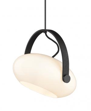 Halo Design - DC Pendel - eg-sort Ø26cm