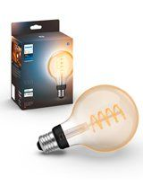 E27 - Philips Hue White Ambaince LED Filament Globe 9,5cm
