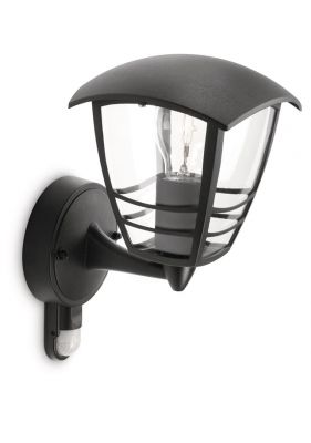 Philips myGarden Creek Væglampe Sort m. sensor