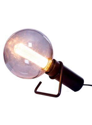 Halo Design - Hook Bordlampe - Sort Ø4,5cm