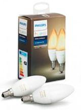 Philips Hue Ambiance LED pære - E14 Kerte - 2-pak - U. Bluetooth