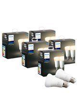 Philips Hue White LED pære - E27 - 10-pak