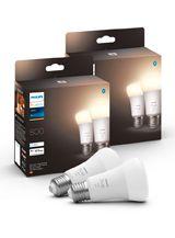 Philips Hue White LED pære - E27 - 4-pak