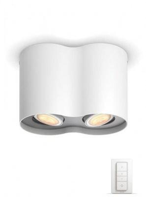 Philips Hue Pillar 2-Spot - Hvid - Uden Bluetooth