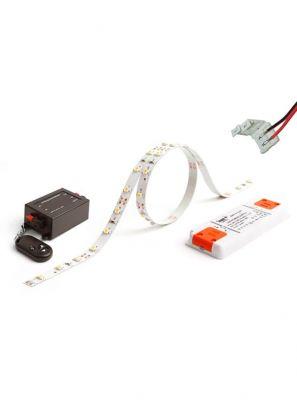 LED Bånd - 5m. Komplet sæt - 350 lm/m