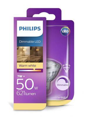 MR16 - Philips LED spot - 7W (dæmpbar)