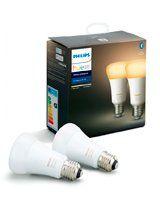 Philips Hue Ambiance LED pære - E27 2-PACK - BT