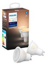 Philips Hue White Ambiance GU10 LED spot - 2-pack