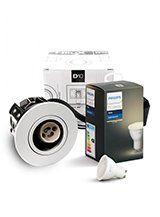 Philips Hue White + HiluX D10 indbyg.